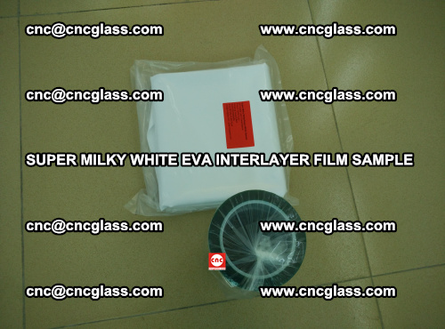 Super Milky White EVA FILM for safety glass, EVAVISION (19)