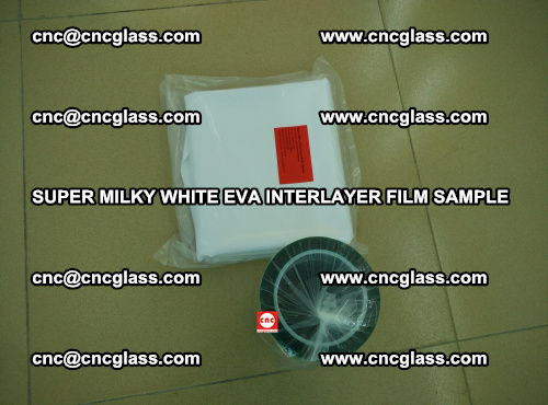 Super Milky White EVA FILM for safety glass, EVAVISION (20)