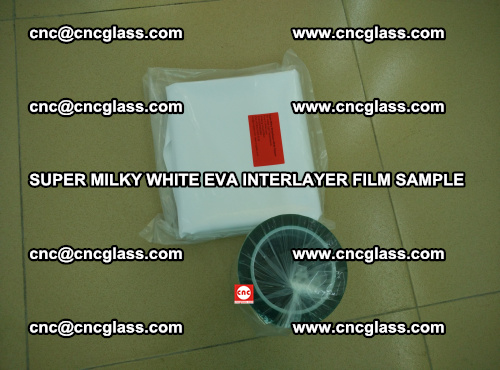 Super Milky White EVA FILM for safety glass, EVAVISION (21)