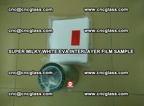 Super Milky White EVA FILM for safety glass, EVAVISION (22)