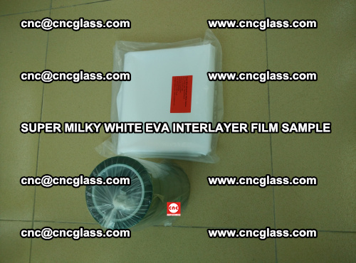 Super Milky White EVA FILM for safety glass, EVAVISION (23)