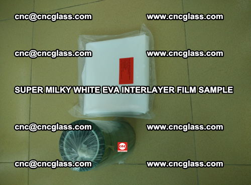 Super Milky White EVA FILM for safety glass, EVAVISION (26)