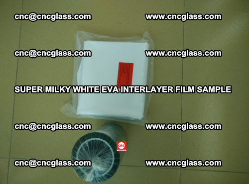 Super Milky White EVA FILM for safety glass, EVAVISION (27)