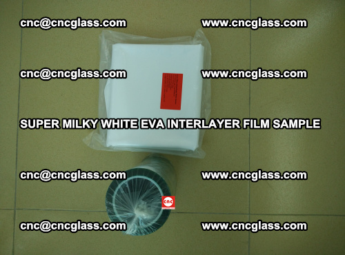 Super Milky White EVA FILM for safety glass, EVAVISION (28)