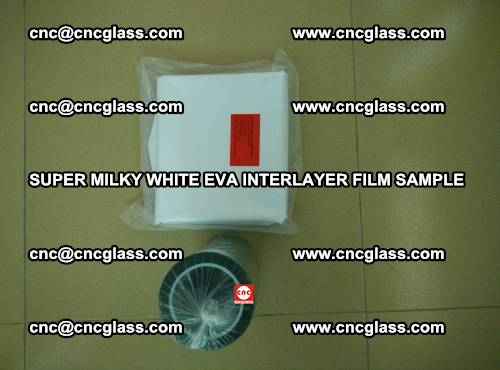 Super Milky White EVA FILM for safety glass, EVAVISION (29)