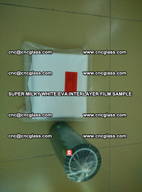 Super Milky White EVA FILM for safety glass, EVAVISION (3)