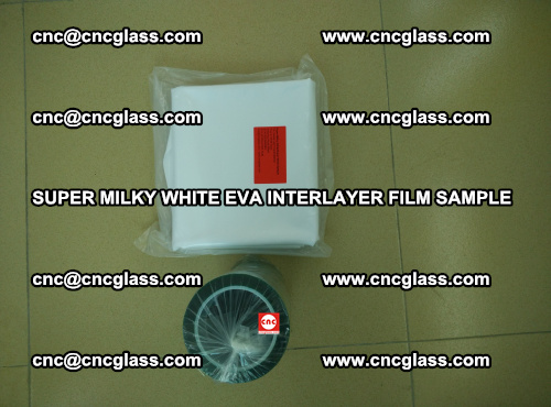 Super Milky White EVA FILM for safety glass, EVAVISION (30)
