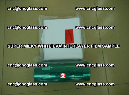 Super Milky White EVA FILM for safety glass, EVAVISION (31)