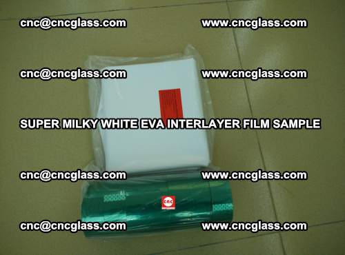 Super Milky White EVA FILM for safety glass, EVAVISION (32)