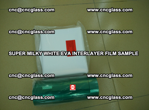 Super Milky White EVA FILM for safety glass, EVAVISION (33)