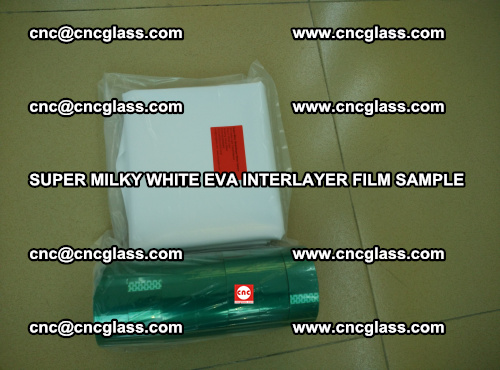 Super Milky White EVA FILM for safety glass, EVAVISION (34)