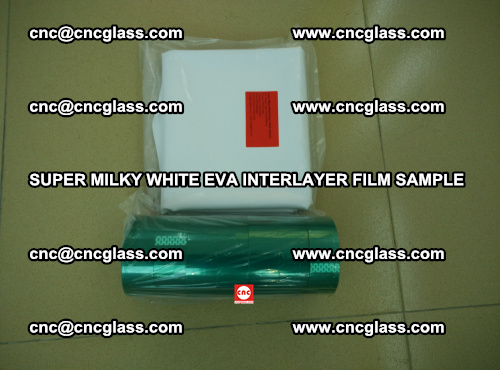 Super Milky White EVA FILM for safety glass, EVAVISION (36)