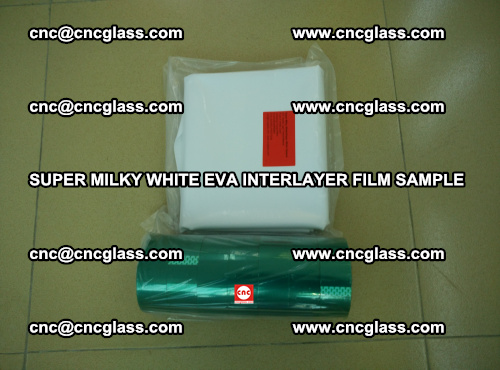 Super Milky White EVA FILM for safety glass, EVAVISION (37)