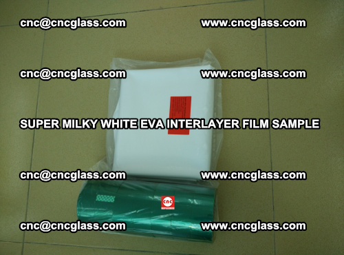 Super Milky White EVA FILM for safety glass, EVAVISION (39)
