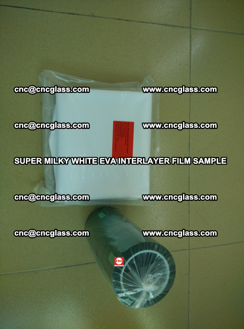 Super Milky White EVA FILM for safety glass, EVAVISION (4)