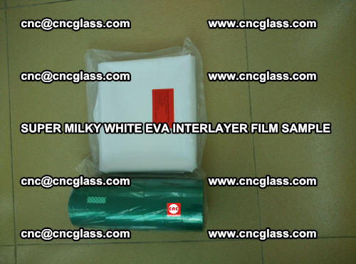 Super Milky White EVA FILM for safety glass, EVAVISION (40)