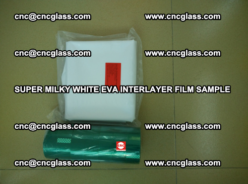 Super Milky White EVA FILM for safety glass, EVAVISION (41)