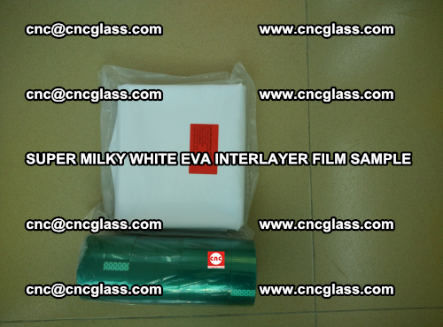 Super Milky White EVA FILM for safety glass, EVAVISION (42)