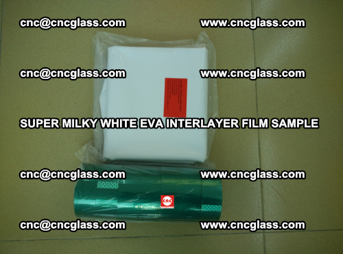 Super Milky White EVA FILM for safety glass, EVAVISION (43)