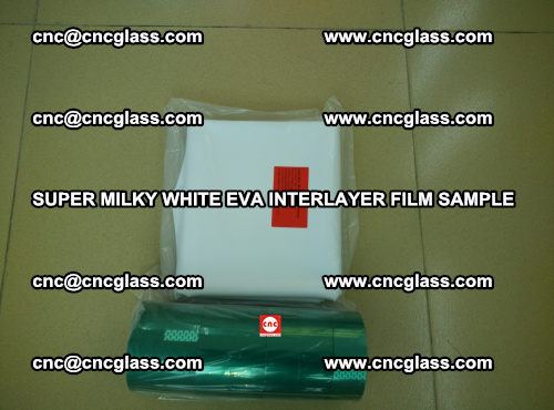 Super Milky White EVA FILM for safety glass, EVAVISION (44)