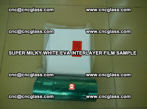 Super Milky White EVA FILM for safety glass, EVAVISION (45)
