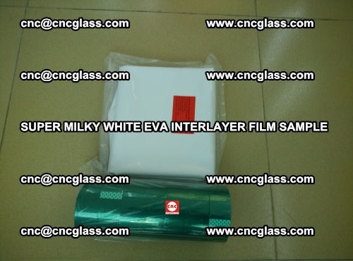 Super Milky White EVA FILM for safety glass, EVAVISION (46)