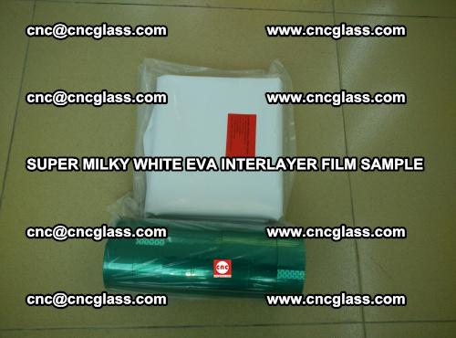 Super Milky White EVA FILM for safety glass, EVAVISION (47)