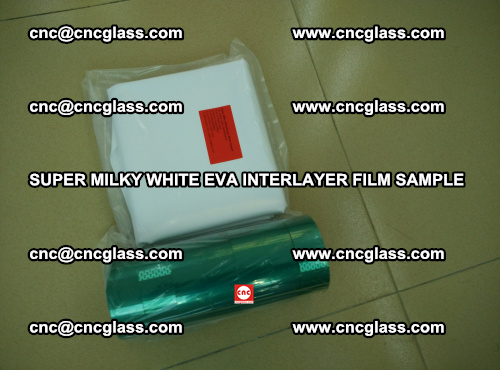 Super Milky White EVA FILM for safety glass, EVAVISION (48)