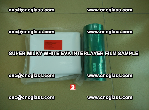 Super Milky White EVA FILM for safety glass, EVAVISION (49)