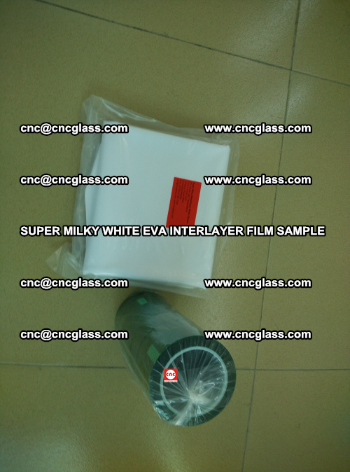 Super Milky White EVA FILM for safety glass, EVAVISION (5)