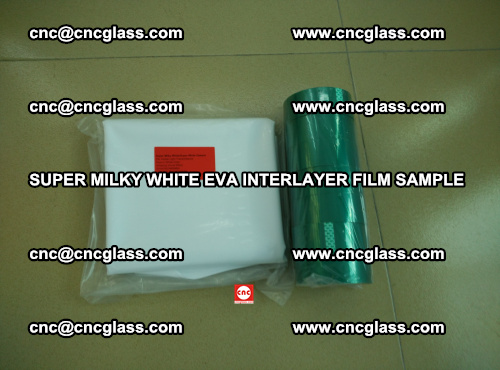 Super Milky White EVA FILM for safety glass, EVAVISION (50)