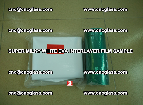 Super Milky White EVA FILM for safety glass, EVAVISION (52)