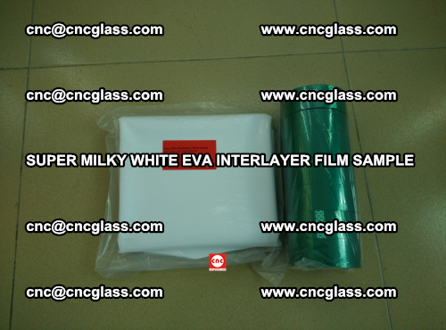 Super Milky White EVA FILM for safety glass, EVAVISION (53)