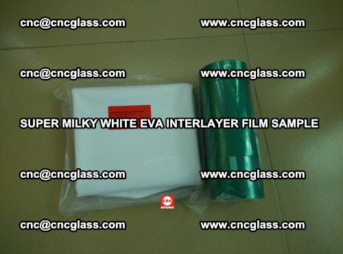 Super Milky White EVA FILM for safety glass, EVAVISION (55)