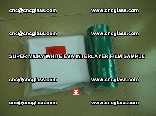 Super Milky White EVA FILM for safety glass, EVAVISION (56)