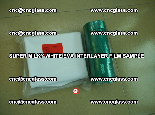 Super Milky White EVA FILM for safety glass, EVAVISION (57)