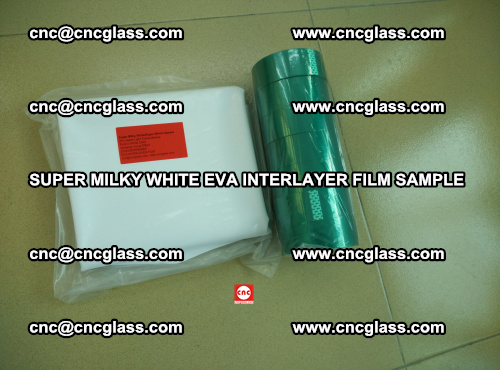 Super Milky White EVA FILM for safety glass, EVAVISION (58)