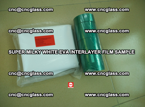 Super Milky White EVA FILM for safety glass, EVAVISION (59)