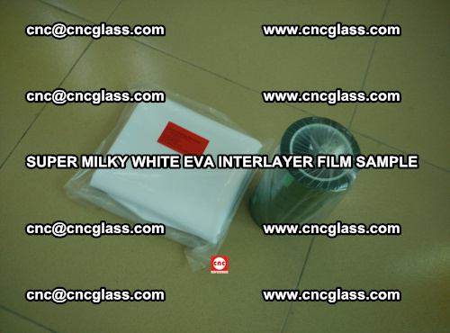 Super Milky White EVA FILM for safety glass, EVAVISION (6)