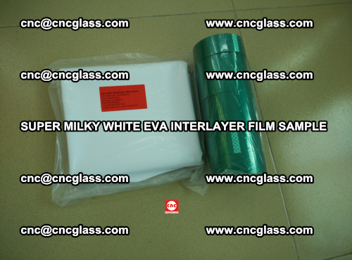 Super Milky White EVA FILM for safety glass, EVAVISION (60)