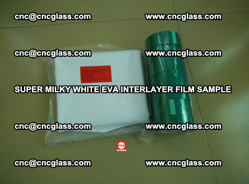 Super Milky White EVA FILM for safety glass, EVAVISION (61)