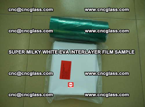 Super Milky White EVA FILM for safety glass, EVAVISION (62)