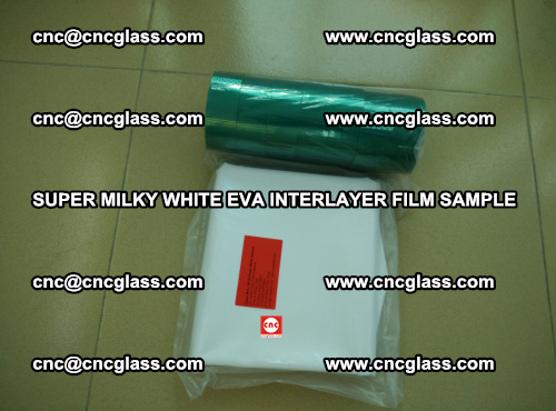 Super Milky White EVA FILM for safety glass, EVAVISION (65)