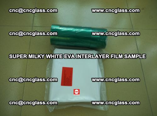 Super Milky White EVA FILM for safety glass, EVAVISION (66)
