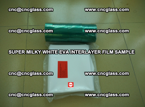Super Milky White EVA FILM for safety glass, EVAVISION (67)