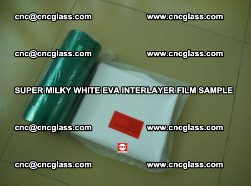 Super Milky White EVA FILM for safety glass, EVAVISION (68)