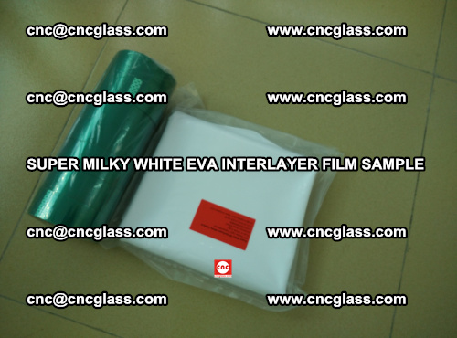 Super Milky White EVA FILM for safety glass, EVAVISION (69)