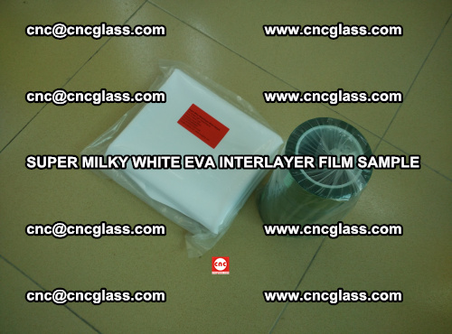 Super Milky White EVA FILM for safety glass, EVAVISION (7)