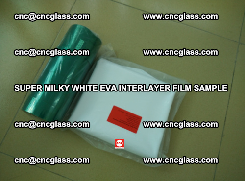 Super Milky White EVA FILM for safety glass, EVAVISION (70)