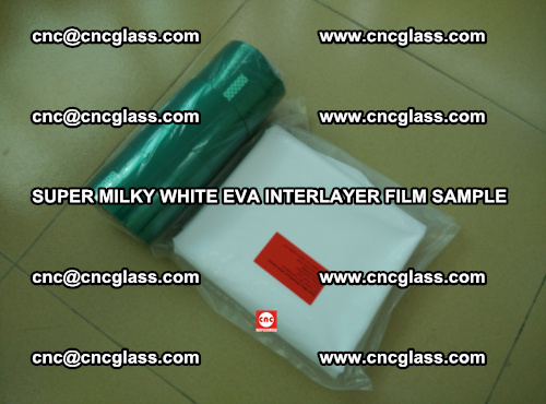 Super Milky White EVA FILM for safety glass, EVAVISION (71)